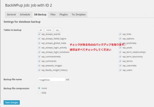 BackWPup-DB-Backup